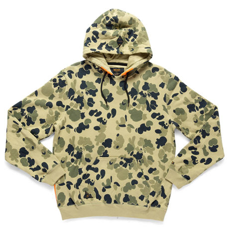 【10Deep / テンディープ】Red Tail Hoody[Olive Pacific]