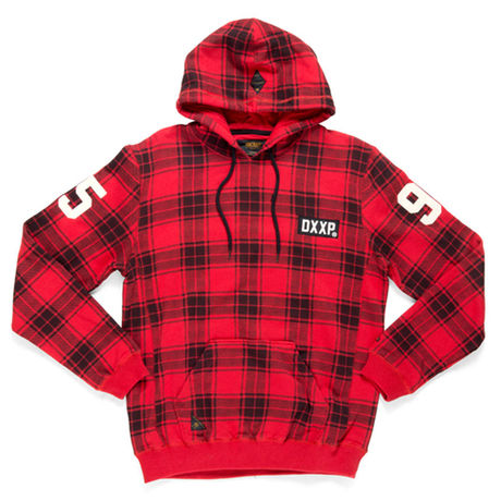 10Deep(テンディープ)/Catacombs Hoody[Red Plaid]