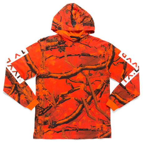 【10Deep / テンディープ】Hunting Camo Hooded Tee[Orange]