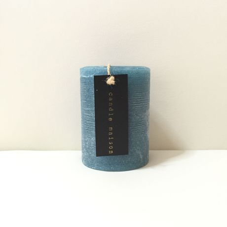 matte candle  Marine