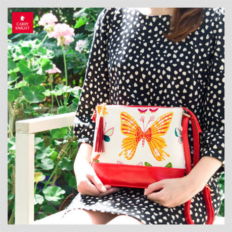 LIFE BAG《 red butterfly 》