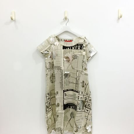 mintdesigns / PRINT DRESS  / MD−28SS−PO1