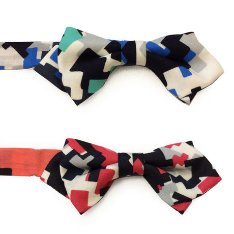 mosaic bow tie