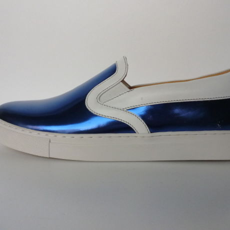 Ladies Slip On Sneaker BLU