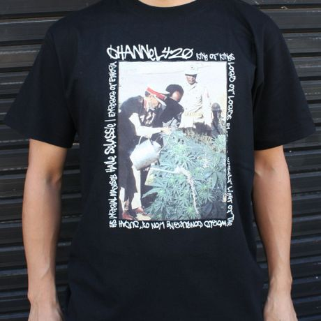 Guard One's Life(Tafari 2 ) Tee・Black   ¥5000(税抜)