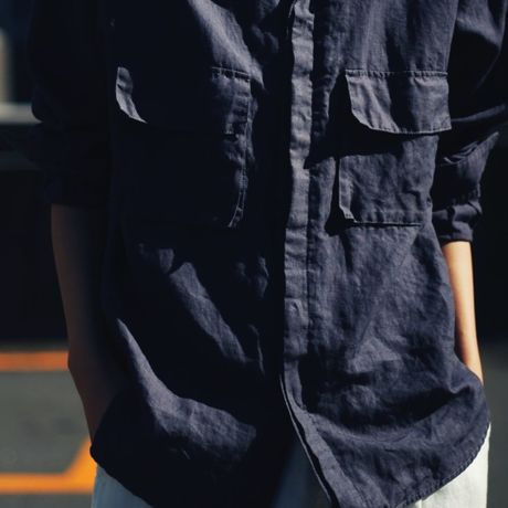 two breast pocket shirt