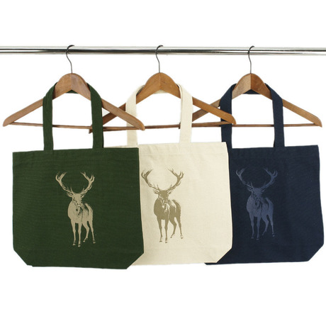 """ChiiToチート/CANVAS TOTE BAG """"DEER"""" キャンバストートMサイズ"""
