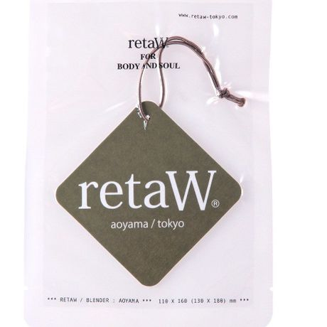 retaW car tag (EVELYN)