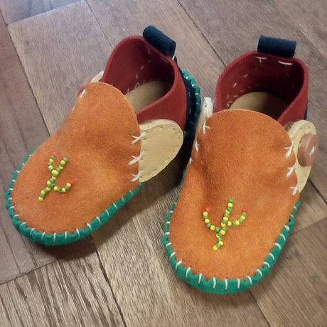 CHILD CONCHO BOOTS