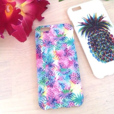 PINEAPPLE - W a t e r C o l o r -  IPHONE 6 CASE