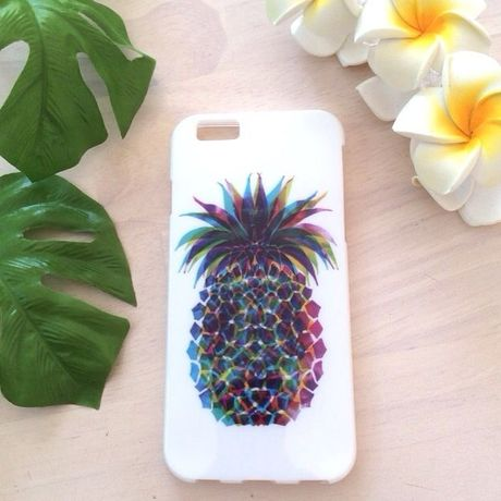 PINEAPPLE - W h i t e - IPHONE 6 CASE