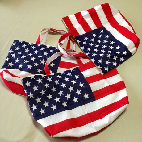 AMERICAN FLAG TOTE BAG (Type A)