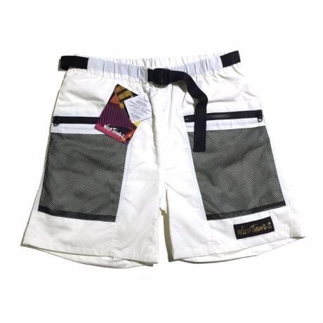 M.V.P. / x WILD THINGS SHOWER SHORTS MOD /WHITE