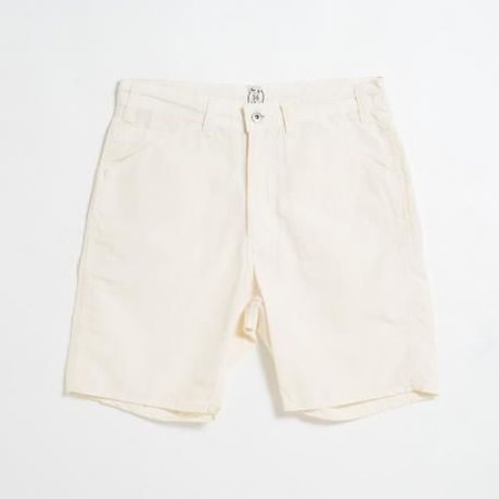 SON OF THE CHEESE/Painter swim shrts/OFF WHITE/サノバチーズ