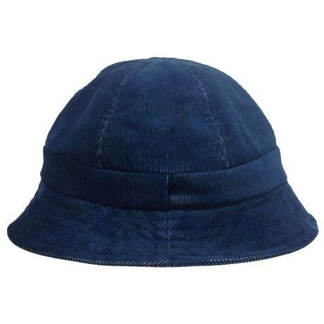 RWCHE/CORDUROY HAT/Navy/Life is Very Funny