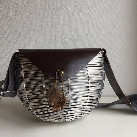 feather shoulder bag