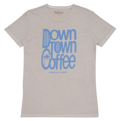 DOWN TOWN COFFEE TEE