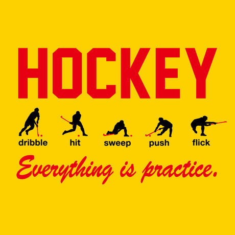 【No,4】 HOCKEY PLAYER T-shirts