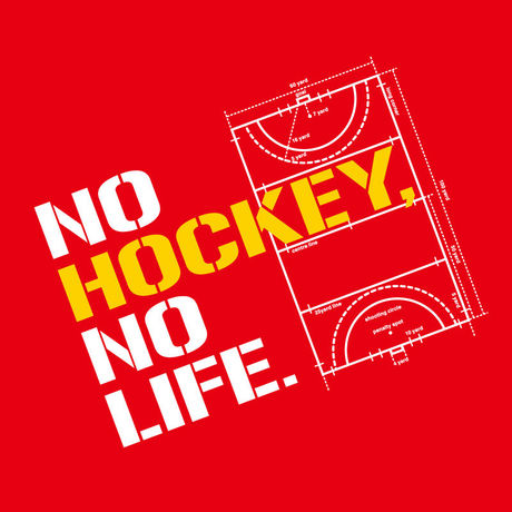 【No,6】 NO HOCKEY NO LIFE T-shirts