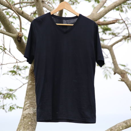 CULICO T-SHIRTS NAVY COTTON 100%