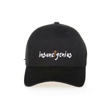INSANE GENIUS ball cap(black)