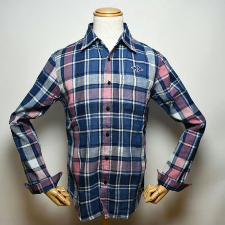 Damiano/Indigo check shirt/NV