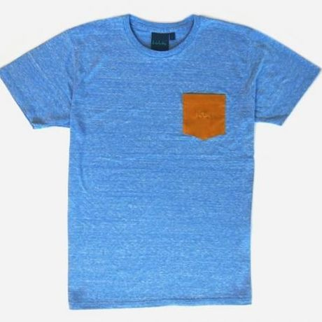 """irie life """"COLOR"""" Pocket Tee/Blue"""