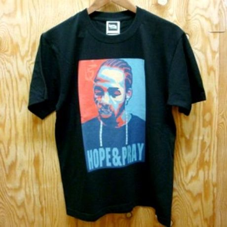 """SALE!! 30%OFF 【レゲエ】FITNESS x kette """"HOPE&PRAY"""" Tee/Black"""