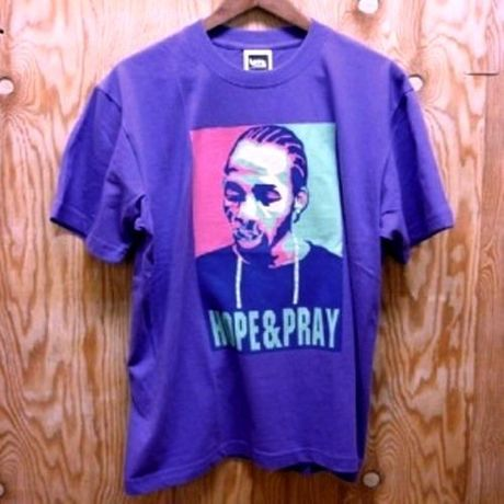 """SALE!! 30%OFF 【レゲエ】FITNESS x kette """"HOPE&PRAY"""" Tee/Purple"""