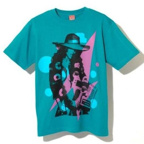 """NINE RULAZ LINE """"Musical Gal"""" Tee/Green"""