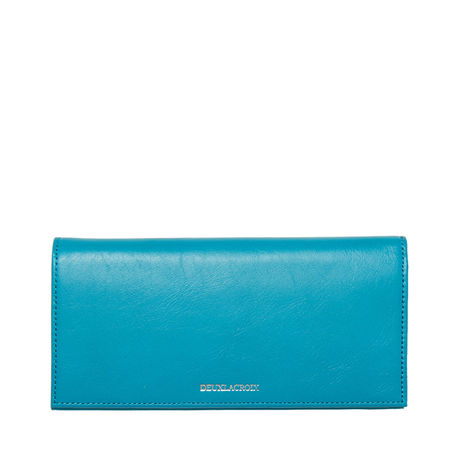long wallet (turquoise)