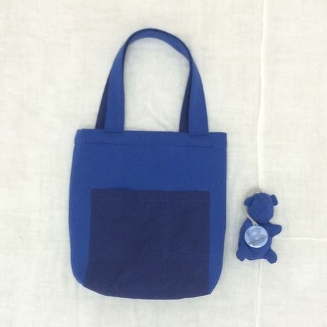 【2015-16 AUTUMN/WINTER COLLECTION】 EVERY DAY TOTE BAG / 55 BLUE