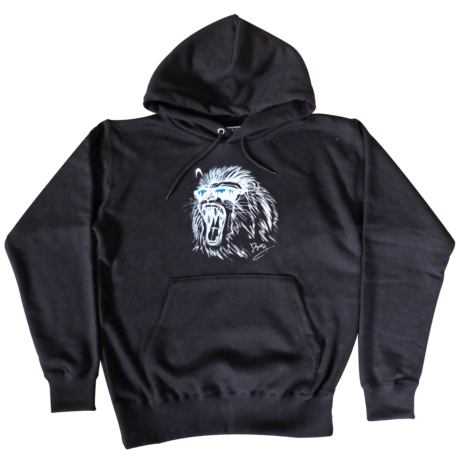 Dig2ity-Lion / Hooded Parka -BLACK-