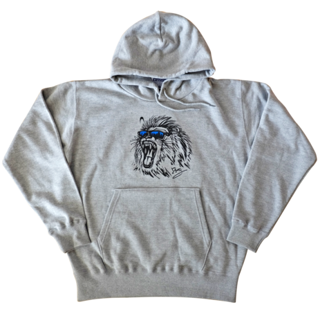 Dig2ity-Lion / Hooded Parka -GRAY-