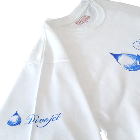 Dive jct Logo T-shirts 002 LADIES