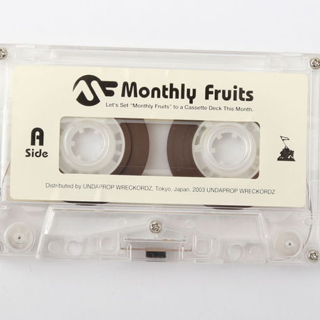 DJ KOMORI 『Monthly Fruits vol.43』MIX TAPE