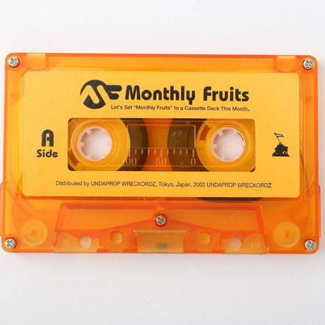 DJ KOMORI 『Monthly Fruits vol.38』MIX TAPE