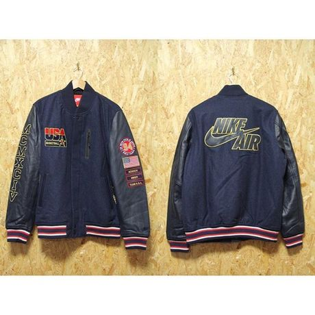 NIKE DREAM TEAM Basketball Jacket 一点物 ナイキ スタジャン US