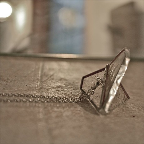 Plane Necklace