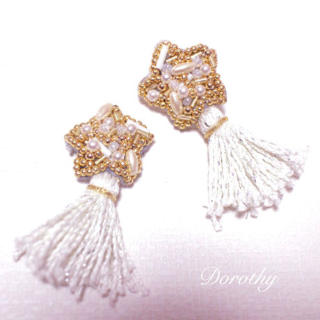 star &tassel pierce (earring)