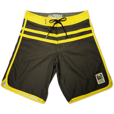 Doublu-line Board Shorts  YELLOW