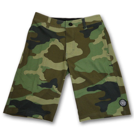 """4WAY STRETCH HYBRID WS """"CAMOUFLAGE"""" GREEN CAMO"""