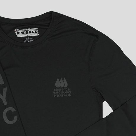 """""""BELIEF"""" PERFORMANCE CHAMPION™ JERSEY (BLACK)"""