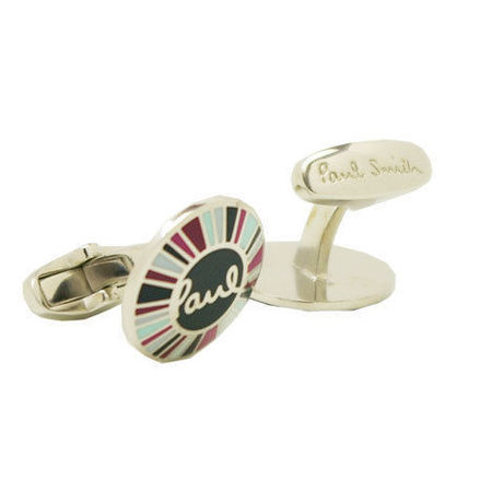 Paul Smith MULTI STRIPE CUFF LINKS
