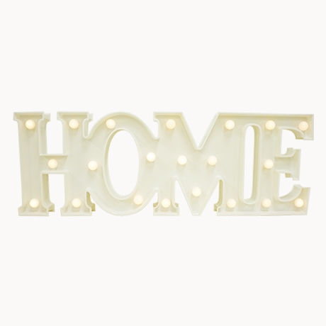 MARQUEE LIGHT HOME WHITE マーキーライト ホーム ホワイト 【34987】