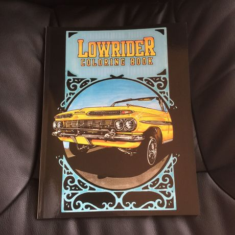 LOERIDER COLORING BOOK
