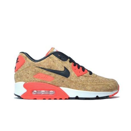 NIKE WMNS AIR MAX 90 ANNIVERSARY CORK INFRA RED