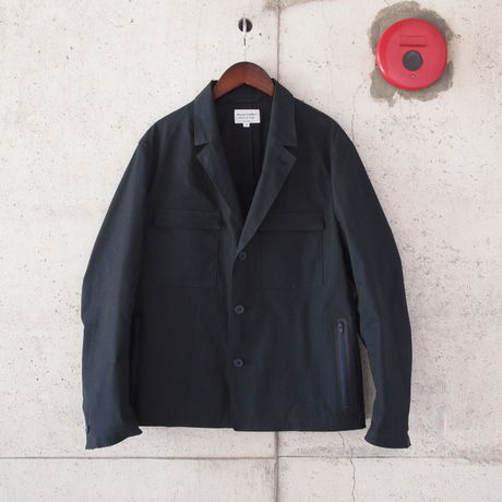 Manual Alphabet〈マニュアルアルファベット〉 ATTACHMENT JACKET (MA-J-111) NAVY