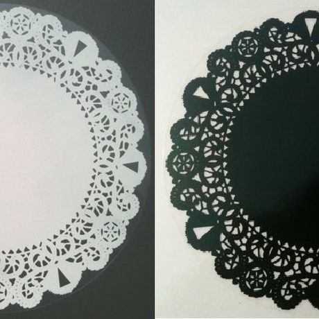 Circle lace Black or White