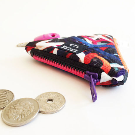 EYL triangle coin purse Shoelace Collector